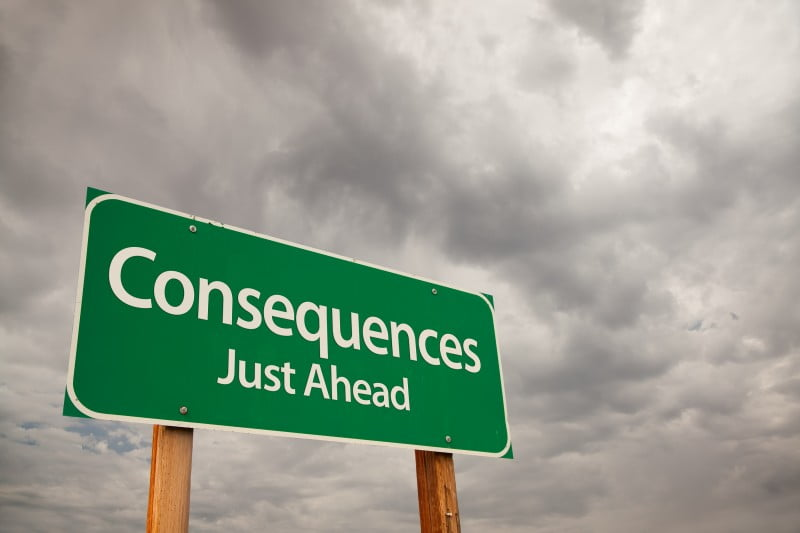 consequences are one way of changing organisational behaviour
