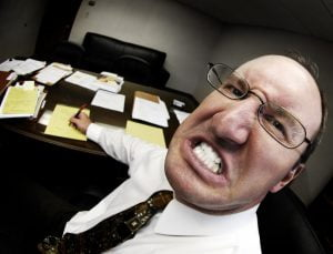 A 'horrible boss' can make life difficult in the office