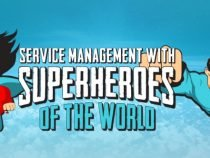 Superheroes at the itSMF Norway conference 2016