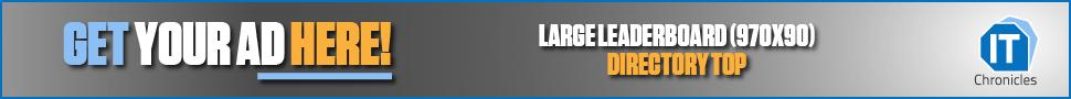 Large Leaderboard (970×90) Directory Top