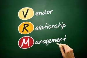 Vendor performance management