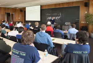 Carnegie Mellon Cyber-Security hackathon