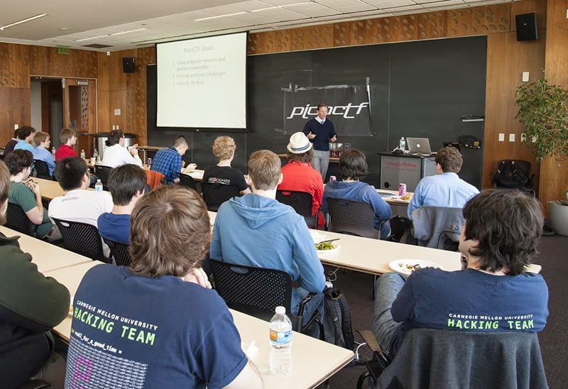 Carnegie Mellon Cyber-Security hackathon