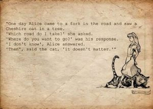 DevOps - if you don't know where you are going any road will take you there