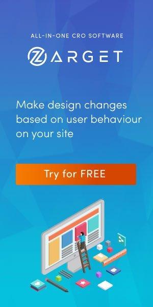 Sidebar (300×600) Zarget – Design Analytics