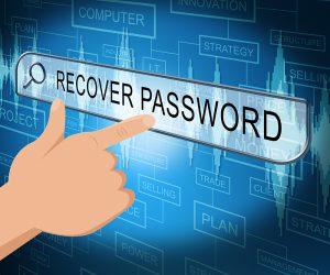 forgotten password