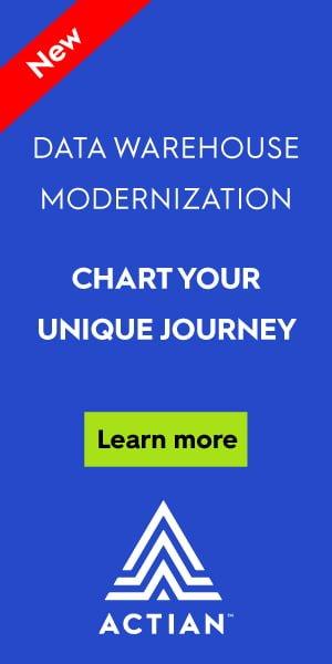 Sidebar (300×600) Actian – Data Warehouse Modernization