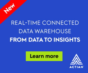 Inline Rectangle (300×250) Actian – Real-time Connected Data Warehouse