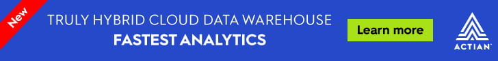 LeaderBoard (970×90) Actian – Hybrid data warehouse