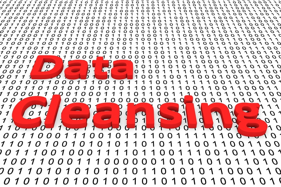 Data cleansing to get rid of bad data