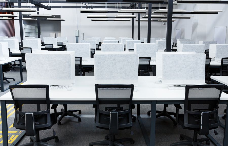 Coworking space - empty as users feel unsafe