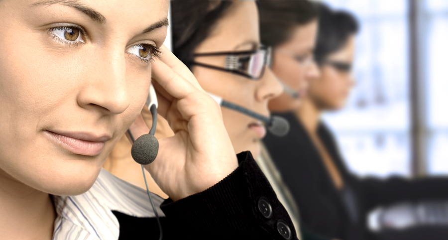 customer service philosophy - agents on phone