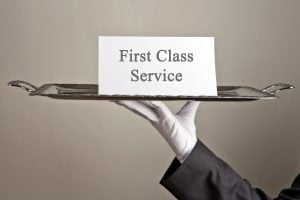 Customer service philosophy - first class