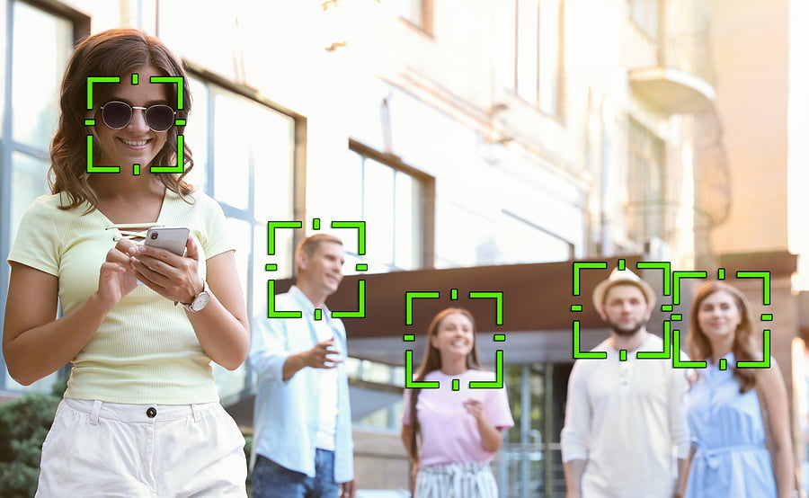 Facial recognition in healthcare