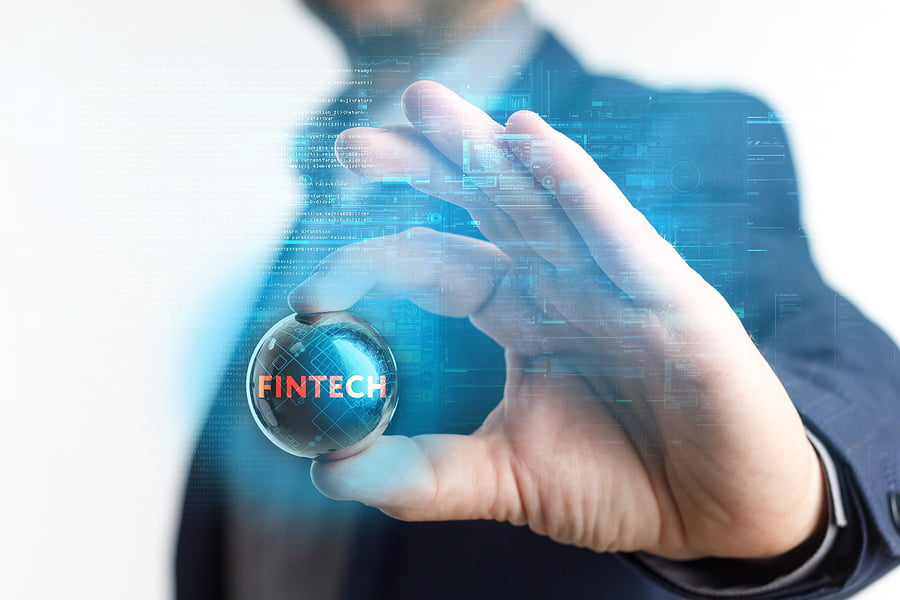 Fintech abstract image