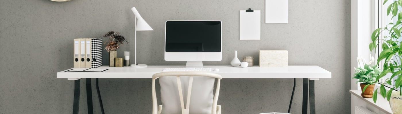 Remote work desk