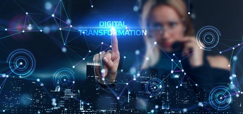 Digital transformation concept