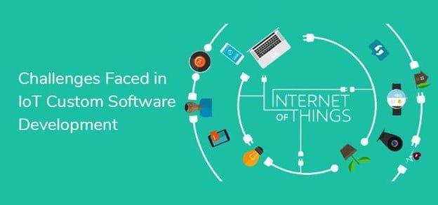 IoT custom software development challenges