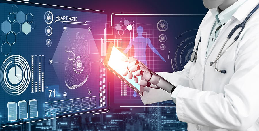 artificial intelligence is used in many areas of healthcare