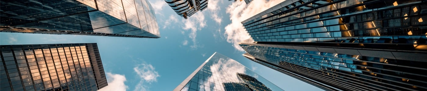 business metrics abstract - Office buildings