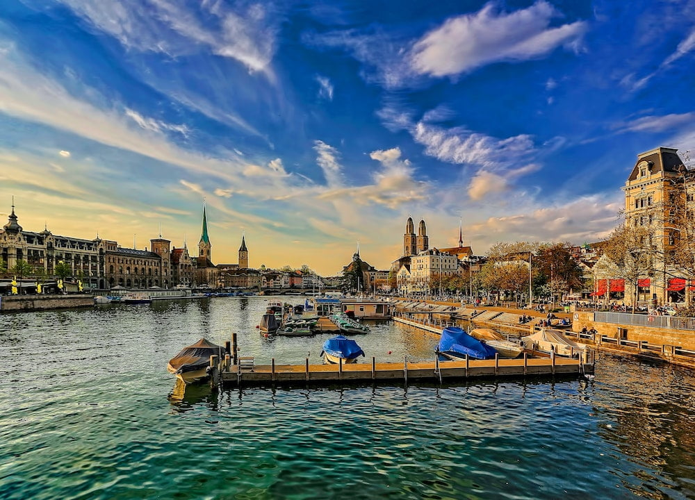 top smart cities - Zurich